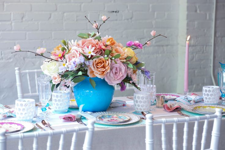 we can't even believe that this gorgeous center piece is made up entirely of...