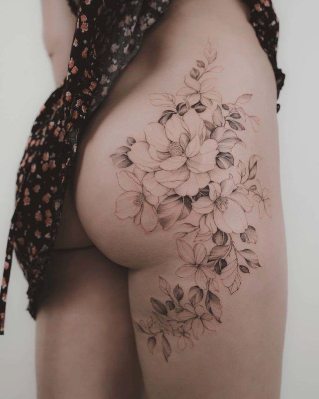 Flower Bouquets Tattoos Flowers Healthy