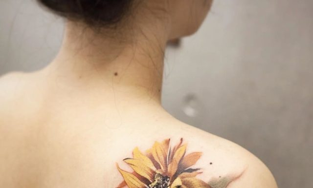 Flower Tattoos For Shoulder Blade Flowers Healthy