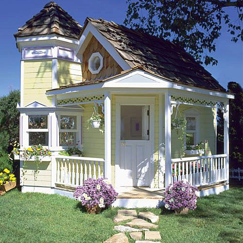 Victorian Playhouse.  I need one.  For me.  :)