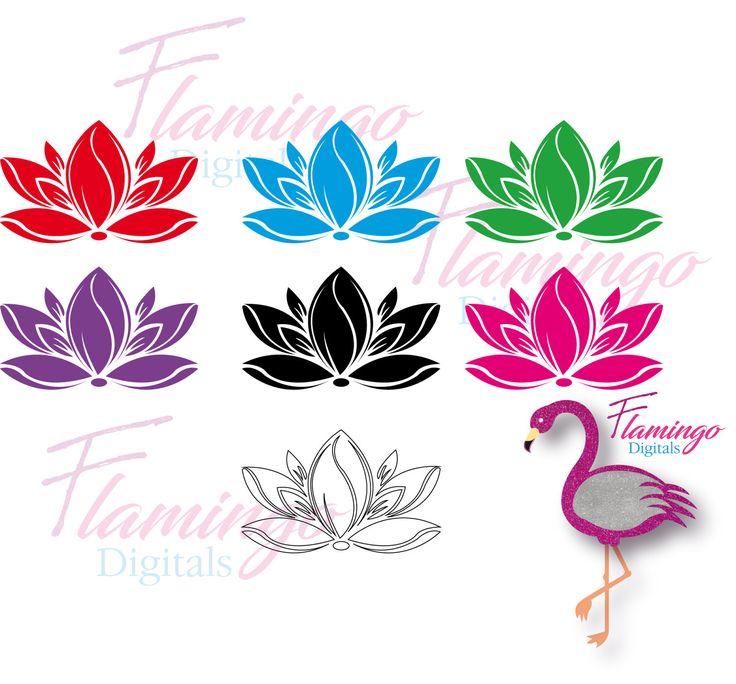 FLOWER SVG - SVG - svg, pdf download, flower collection, vector flowers, printab...