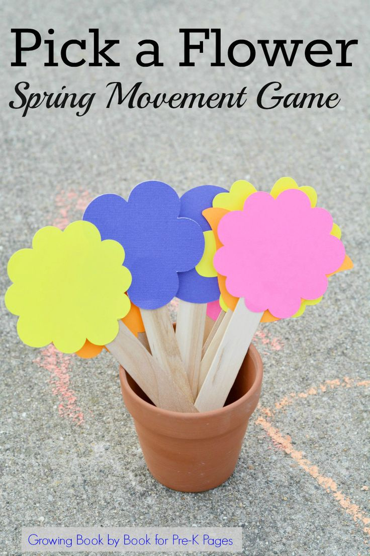 Spring Movement Games. This fun movement game is perfect for a spring theme in y...
