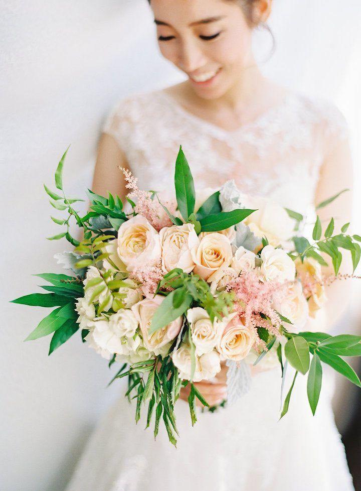 Romantic Garden Chic California Wedding - MODwedding