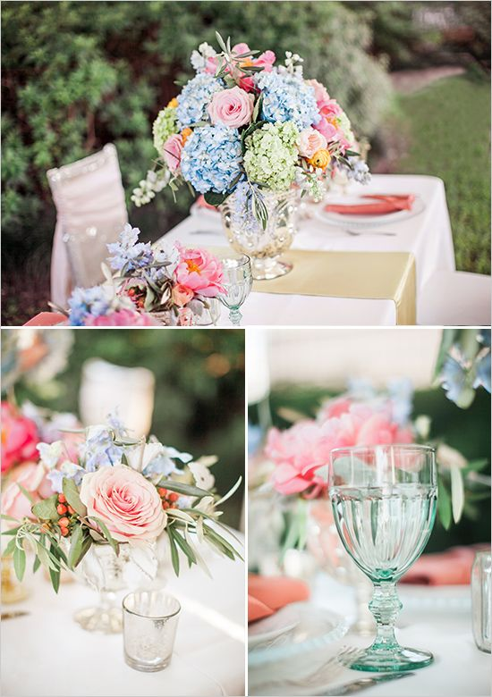garden reception table ideas wedding chicks