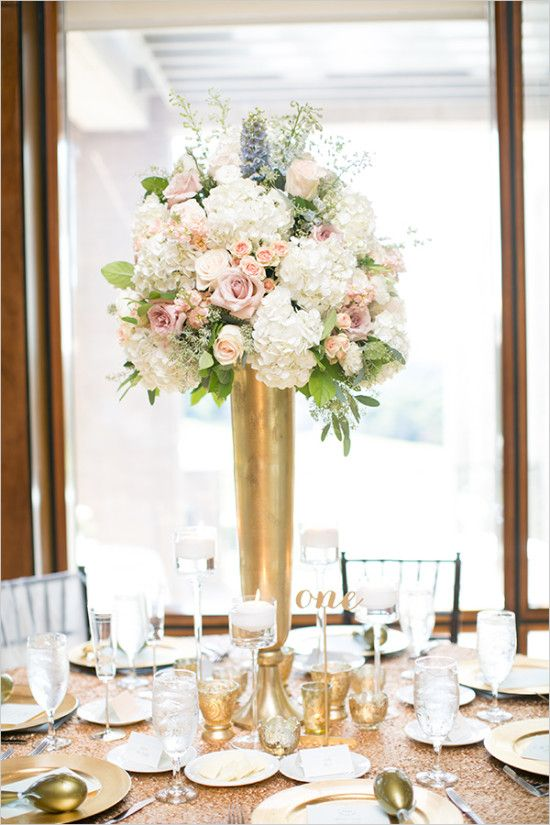 tall floral centerpiece #centerpiece #weddingflowers wedding chicks
