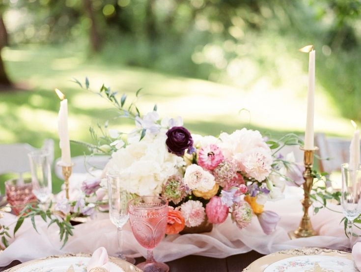 whimsy inspired centerpiece