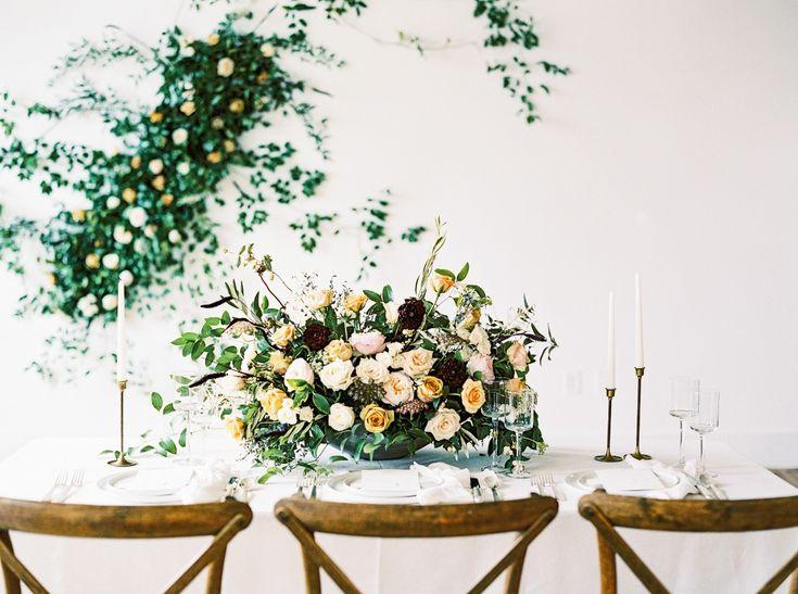 vintage style wedding floral centerpiece  #wedding #weddingshoes #weddingday #ma...