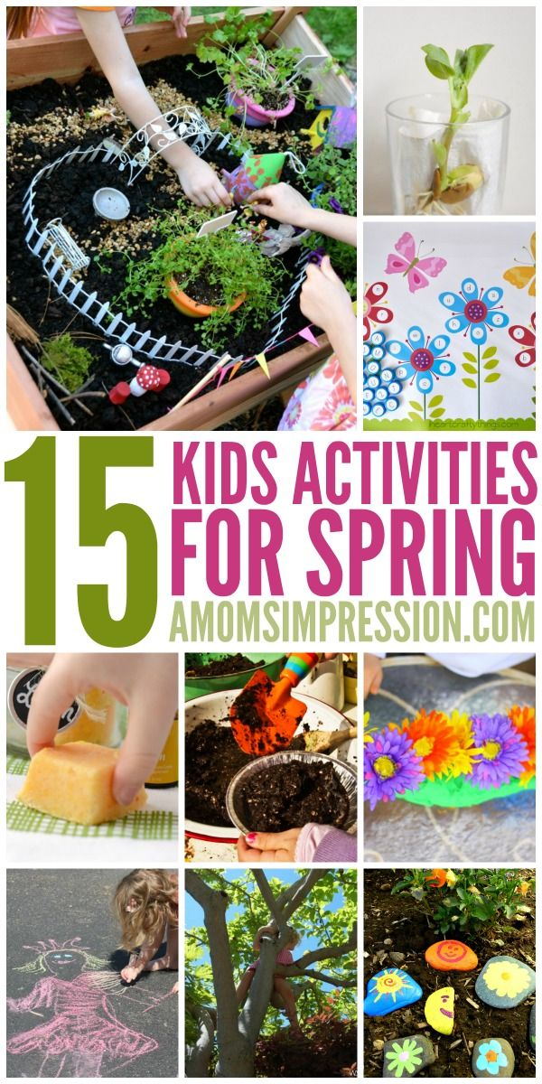 Your Guide to Fun Spring Activities for Kids That They will Actually Love