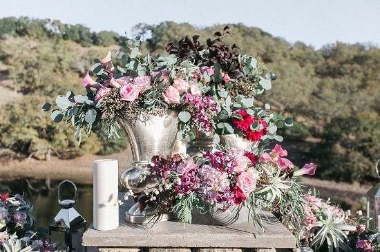 Blush And Burgundy Wedding Ideas