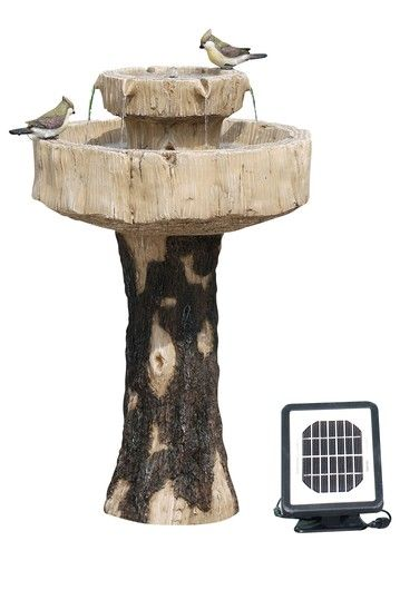 Alpine Solar Fountain/Birdbath, 27