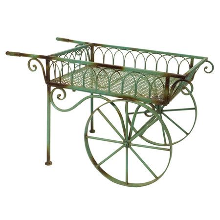 Beatrix Garden Cart in Green -  Fill this with flowers perfect for that special ...
