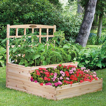 Flowers And Garden Ideas Palmetto Tiered Garden Bed Flowers Tn