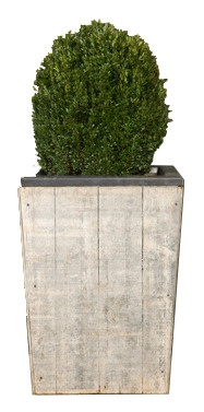 Project Décor- Unique planter reclaimed norwegian pine brickmaker pallets.