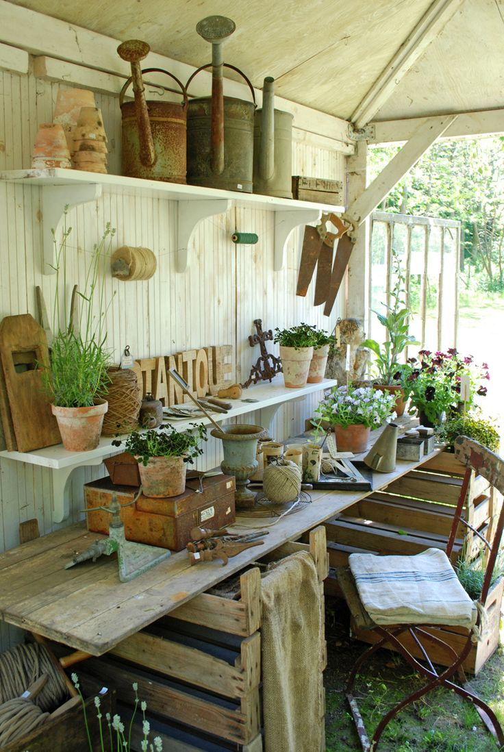 Flowers And Garden Ideas Great Potting Shed Flowers Tn