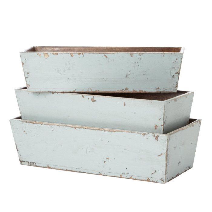 3 Piece Rama Nesting Planter Set
