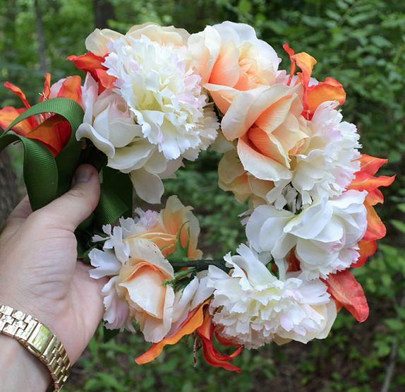 Forever Floral Crowns Tutorial | Mom Spark - Mom Blogger