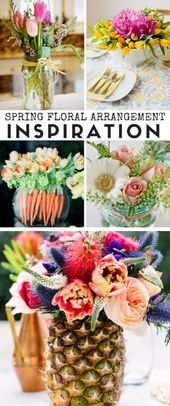 Spring Floral Arrangement Inspiration