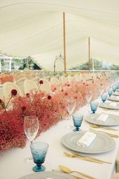 Flor mosquitinho: como usar na decorações de casamento atuais