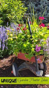 Unique Garden Planter Ideas - SheSaved®
