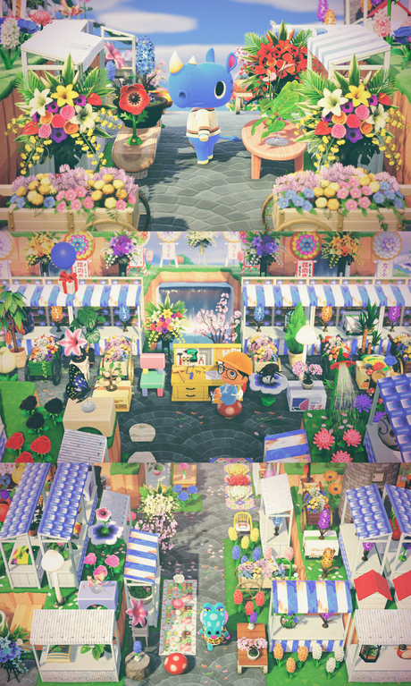 I finally finished my Flower Market and it turned out great! 💐