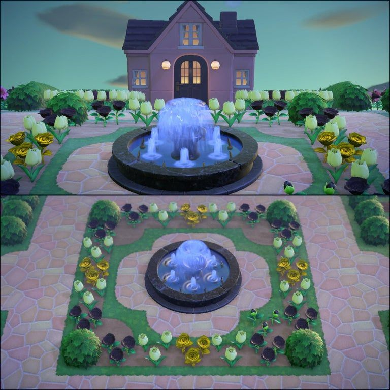 I was inspired by this sub to make a flower garden around my house, this is my new entrance!