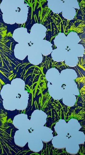 Andy Warhol Flowers Wallpaper