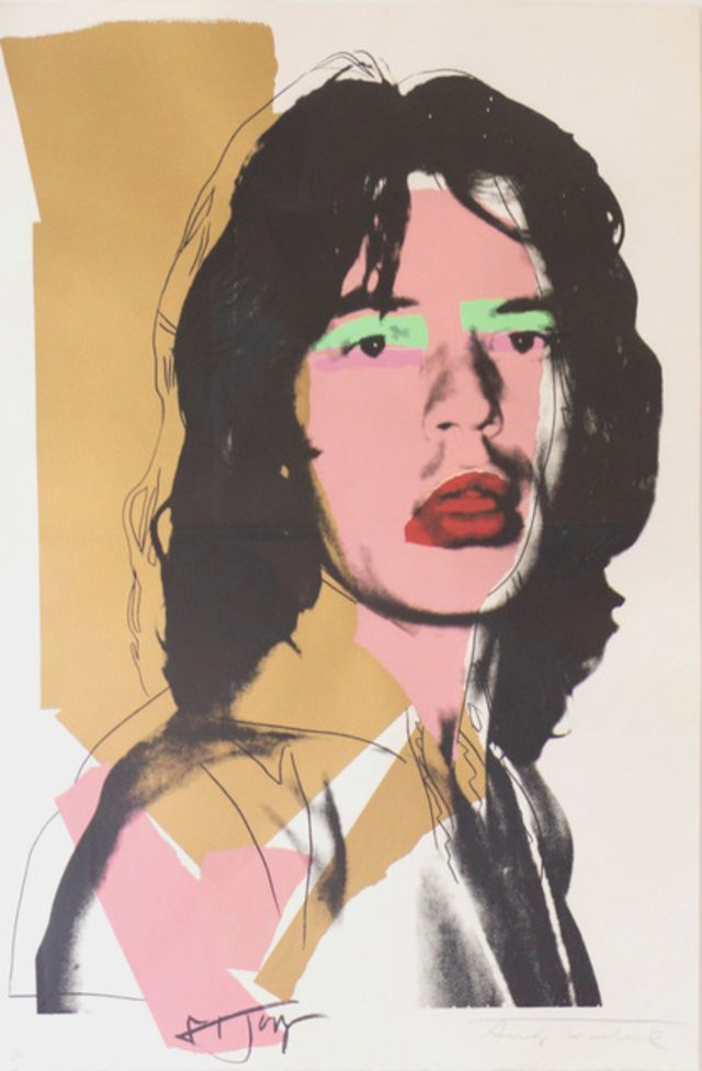 Andy Warhol   Mick Jagger (FS II.143) (1975)   Available for Sale   Artsy