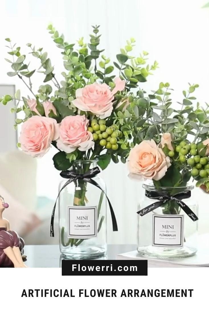 Artificial Flower Silk Rose