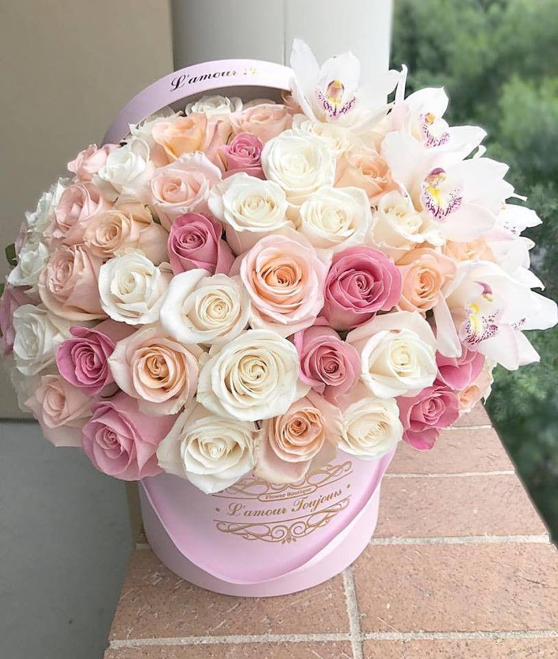 Pink Mix Signature Box by L'amour Toujours Flower Boutique