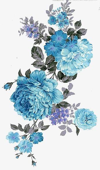 Fleurs, Pivoine, Peint, Fleurs Fichier PNG et PSD pour le téléchargement libre
