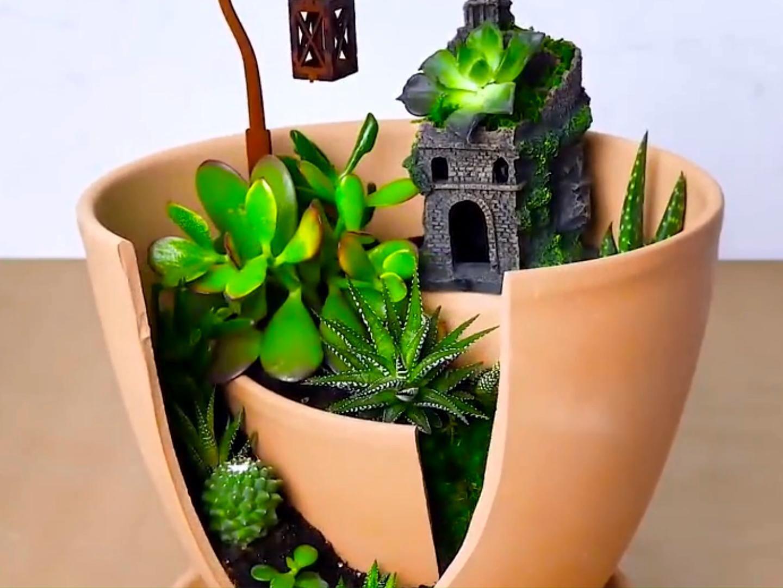 Wonderful And Easy Fairy Garden Ideas For Kids