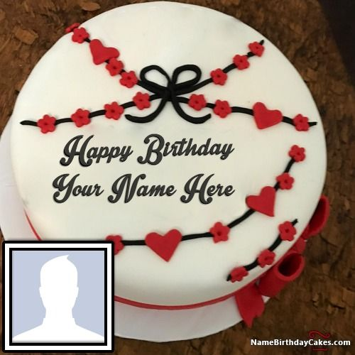 Best Happy Birthday Cake With Photo And Name