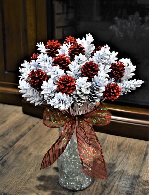 Fleurs de cône de pin une douzaine de fleurs de pine de   Etsy