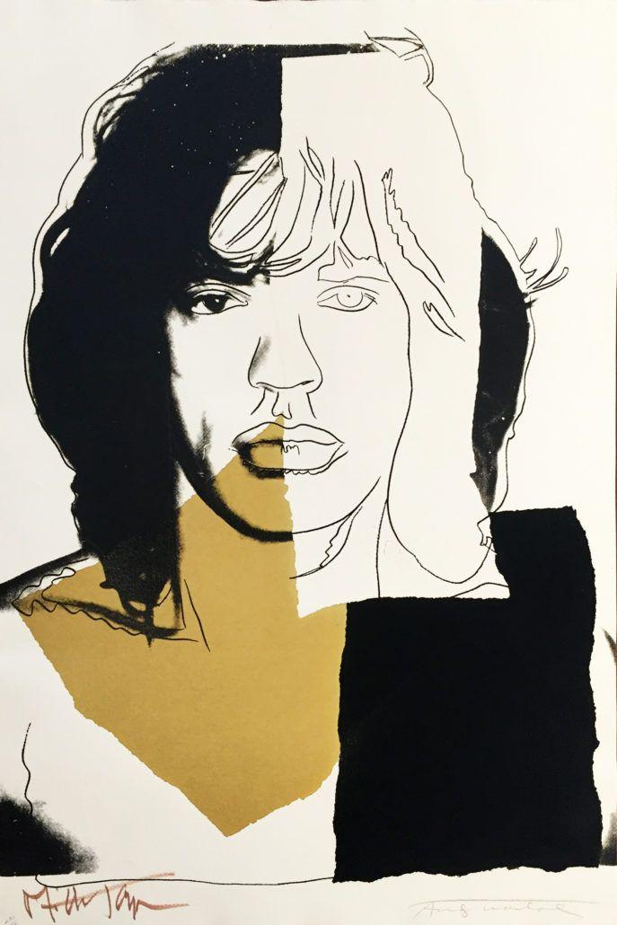 Andy Warhol   Mick Jagger 146   1975   Hamilton-Selway
