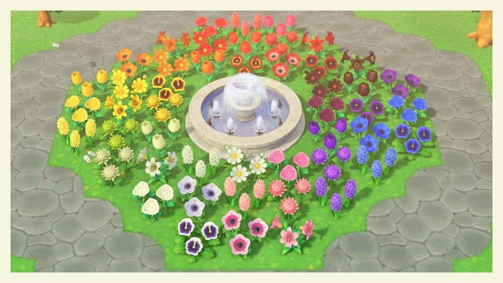 Just wanted to show my new rainbow flowerbed