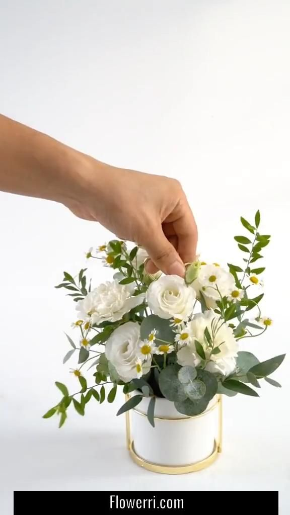 Small Flower Arrangement For Home Decor