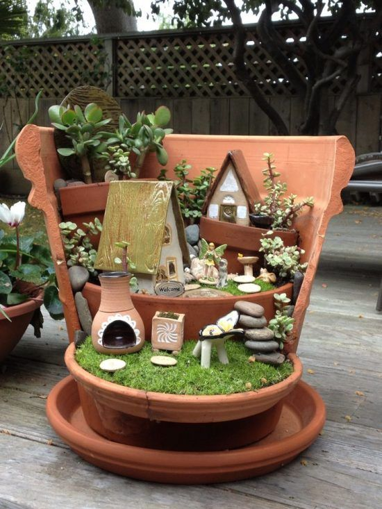 You'll Love These Gorgeous Broken Fairy Pot Ideas | The WHOot