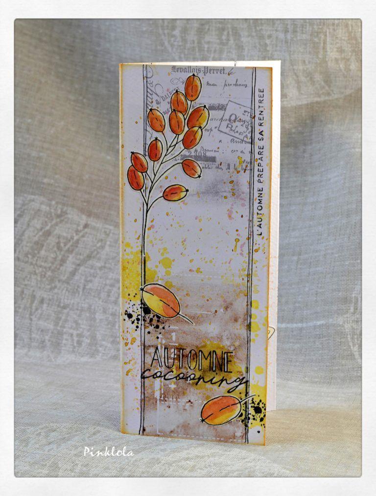 Couleurs d'automnes avec la collection «brin d'automne» #Chou & Flowers