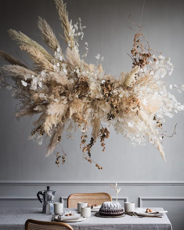 Sculptural Suspended Flower Installations + Online Masterclass