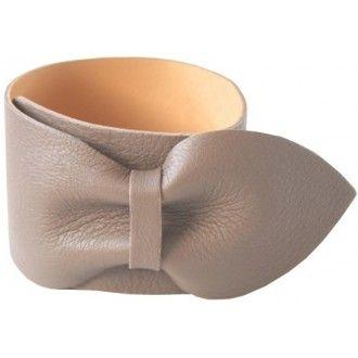 Bracelet cuir femme - bijoux cuir - FlowersForZoé