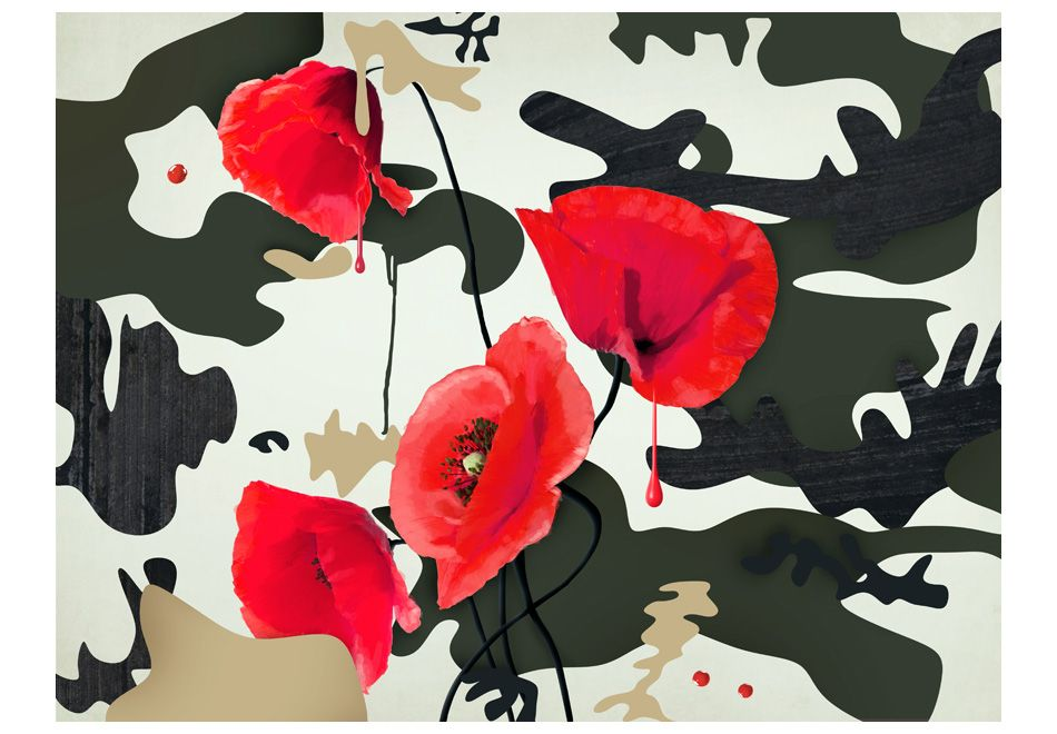 Fototapeta - The flowers of war ARTGEIST