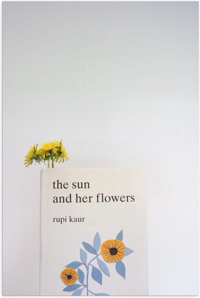 Poster – ''The sun and her flowers'' Boek - 40x60cm Foto op Posterpapier